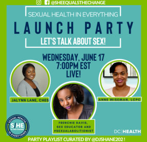 sexual health in everything flyer