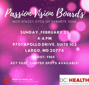 Passion Vision Board Event