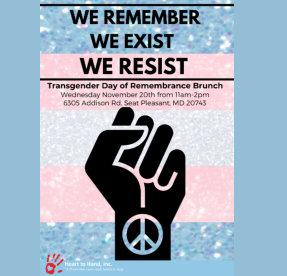 Transgender Day of Remembrance Brunch